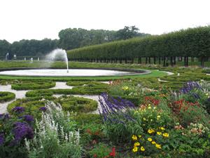 Augustusburg Castle gardens